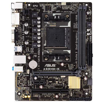 Immagine di ASUS MB A68HM-K FM2 Micro-ATX2.133 MHz AMD A68