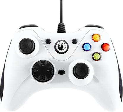 Immagine di NACON CONTROLLER WIRED PER PC CON PULSANTE HOME COMPATIBILE CON TUTTI I GIOCHI PER PC E CON WINDOWS XP/VISTA/7/8/10 - WHITE