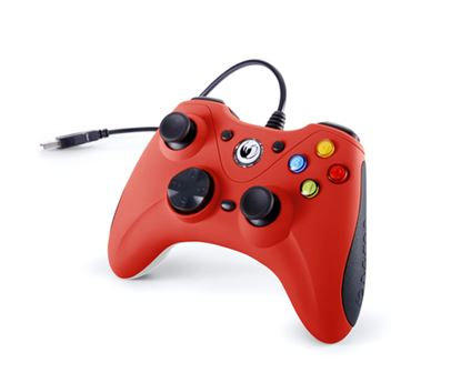 Immagine di NACON CONTROLLER WIRED PER PC CON PULSANTE HOME COMPATIBILE CON TUTTI I GIOCHI PER PC E CON WINDOWS XP/VISTA/7/8/10 - RED