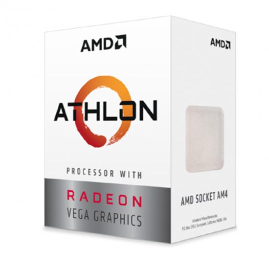 Immagine di AMD CPU RAVEN RIDGE ATHLON 200GE RADEON VEGA GRAPHICS