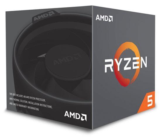 Immagine di AMD CPU PINNACLE RIDGE RYZEN 5 2600 3,90GHZ AM4 19MB CACHE 65W WRAITH STEALTH COOLER