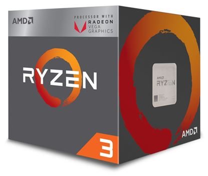 Immagine di AMD CPU RAVEN RIDGE RYZEN 3 2200G 3,50GHZ AM4 6MB CACHE 65W RX VEGA GRAPHICS WRAITH STEALTH COOLER