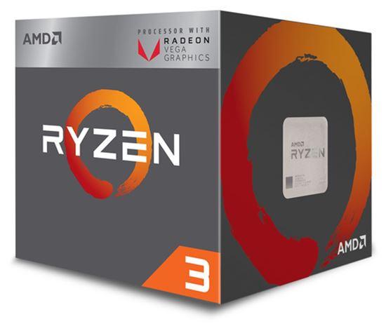 Immagine di AMD CPU RAVEN RIDGE RYZEN 3 2200G 3,50GHZ AM4 6MB CACHE 65W RX VEGA GRAPHICS WRAITH STEALTH COOLER