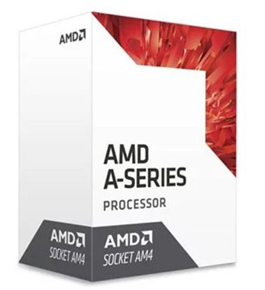 Immagine di AMD CPU BRISTOL RIDGE A6-9500 2 CORE 3,50GHZ 1MB CACHE AM4 65W RADEON R5