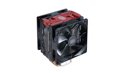 Immagine di COOLER MASTER DISSIPATORE CPU, HYPER 212 LED TURBO RED COVER, 2X120MM 600-1600RPM PWM FAN WITH RED LED, 4X6MM DIRECT CONTACT HEATPIPES, FULL SOCKET SUPPORT