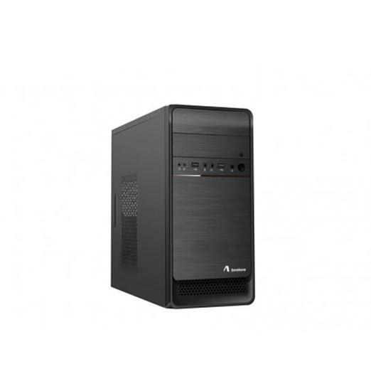 Immagine di ADJ CASE MICRO ATX CON ALIMENTATORE 500W PSU 1 USB 2.0+3.0 NERO