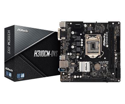 Immagine di ASROCK MB H310CM-DVS 2DDR4 PCI-E X16 MATX
