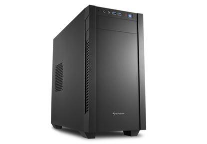 Immagine di SHARKOON CASE S1000 MINI TOWER MICRO-ATX/MINI ITX, 4 SLOT, 2XUSB 3,0, 1X120 FRON 1X120 REAR, COLORE NERO