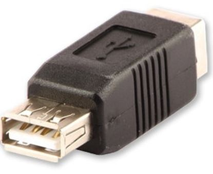 Immagine di LINDY ADATTATORE USB 2.0, A/B, F/F