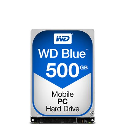 Immagine di WESTERN DIGITAL HDD BLUE 500GB  2,5 5400RPM SATA 6GB/S
