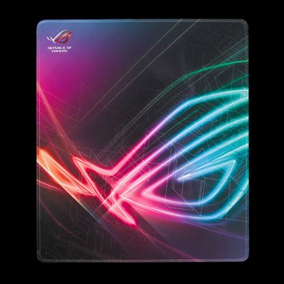 Immagine di ASUS MOUSEPAD GAMING STRIX EDGE XXL, CUCITURE LATERALI, IMPERMEABILE, EXTRA LARGE