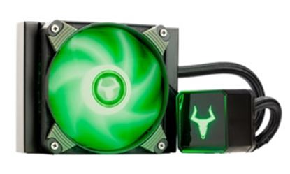 Immagine di ITEK DISSIPATORE A LIQUIDO ICEBLACK 120 - RGB 120MM