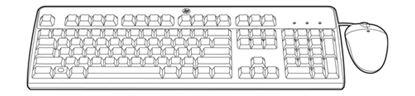 Immagine di HP USB BFR-PVC IT KEYBOARD-MOUSE KIT