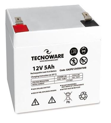 Immagine di TECNOWARE POWER BATTERY 12V 5AH FASTON 6,3MM