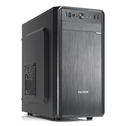Immagine di VULTECH CASE MICRO ATX GS-2688N CON ALIMENTATORE 500W PORTA USB 3.0 E SD CARD NERO