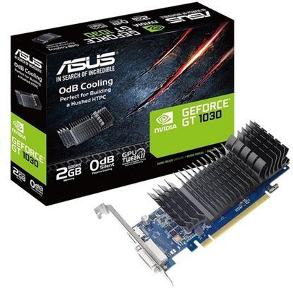 Immagine di ASUS VGA GT 710 2GB GDDR5 VGA DVI HDMI LOW PROFILE