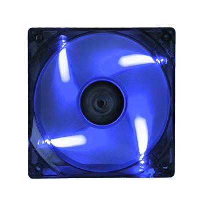Immagine di ITEK VENTOLA PER CASE XTREME FLOW - 12CM, LED BLU, 3+4PIN, SILENZIOSA