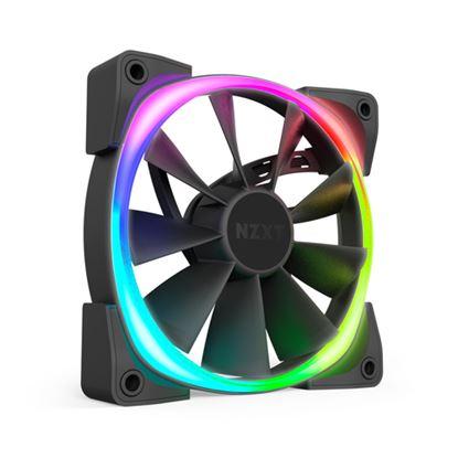 Immagine di NZXT VENTOLA AER RGB2 120X120X26MM, 500-1500 RPM, 22-33 DBA
