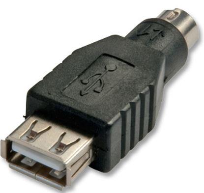 Immagine di LINDY ADATTATORE USB A PORTA PS 2