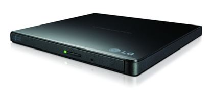 Immagine di LG MASTERIZZATORE ESTERNO DVD ULTRASLIM PORTABLE USB 8XDVDR WRITE 24X CD WRITE BLACK