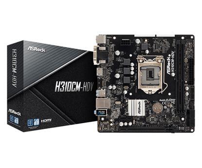 Immagine di ASROCK MB H310CM-HDV 2DDR4 PCI-E X16 DVI/HDMI MATX