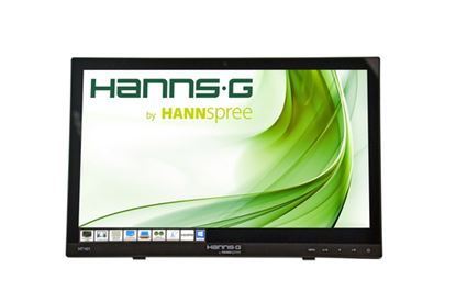 "Immagine di HANNSG MONITOR TOUCH 15,6"", LED, 16:9, 1366X768, 220CD/M2, 12MS, 90/65, VGA, HDMI, MULTIMEDIA"