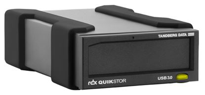 Immagine di TANDBERG KIT DISPOSITIVO ESTERNO RDX USB3+ AUTOALIMENTATO CON CARTUCCIA BACKUP 1TB (SUPPORTO WINDOWS BACKUP E APPLE TIME MACHINE)