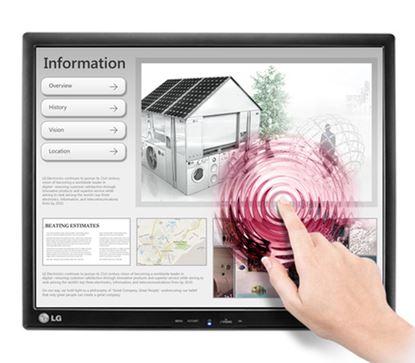 Immagine di LG MONITOR 17 LED TOUCH 17MB15T 5:4 1280X1024 250CDM 5 MS VGA MAT BLACK