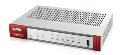 Immagine di ZYXEL FIREWALL 5 PORTE GIGALAN 1 PORTA USB 1XSFP VPN 10IPSEC/L2TP  SSL