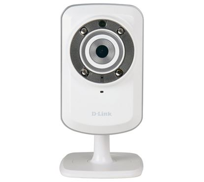 Immagine di D-LINK DCS-932L IP CAMERA WIRELESS N CON MY D-LINK SUPPORT - VISIONE INFRAROSSI - mydlink