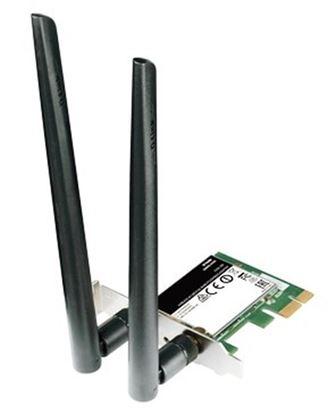 Immagine di D-LINK SCHEDA DI RETE PCIE AC1200 WIRELESS DUALBAND WPS 2 ANTENNE
