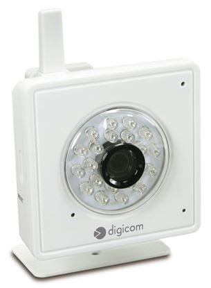 Immagine di DIGICOM IP CAMERA HD 1MPX WIRELESS USO INTERNO SENSORE IR RISOLUZIONE 1280X720 1 PORTA LAN 10/100 SLOT PER SD CARD