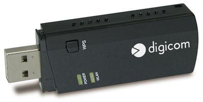 Immagine di DIGICOM ADATTATORE USB WIRELESS AC600 DUALBAND WPS
