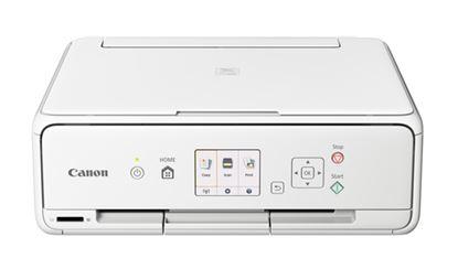 Immagine di CANON MULTIF.INK TS5051 A4 4800X1200DPI USB/WIRELESS STAMPANTE SCANNER COPIATRICE COLORE BIANCO