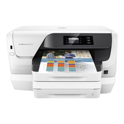 Immagine di HP STAMPANTE INKJET OFFICEJET PRO 8218 A4 FRONTE RETRO 20PPM QUADRICROMIA