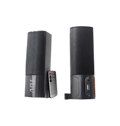 Immagine di ADJ SPEAKER SOUNDBAR BLUETOOTH APOLLO 2.0 2X3W AUX, USB CON TELECOMANDO, BLACK