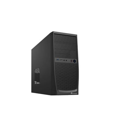 Immagine di ADJ CASE MINI-TOWER NO ALIMENTATORE, MICRO-ATX/ITX, 1xUSB 2.0, 1xUSB 3.0