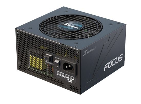 Immagine di SEASONIC FOCUS PLUS ALIMENTATORE ATX 550W 80PLUS PLATINUM FULL MODULAR 120MM FAN