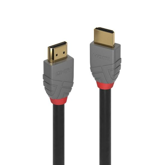 Immagine di LINDYCAVO HDMI HIGH SPEED ANTHRA LINE 0.5M