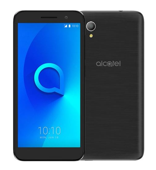 Immagine di ALCATEL SMARTPHONE 1 2019 4,99 DUAL SIM ANDROID GO EDITION QUAD CORE 8GB MICROSD 32GB VOLCANO BLACK
