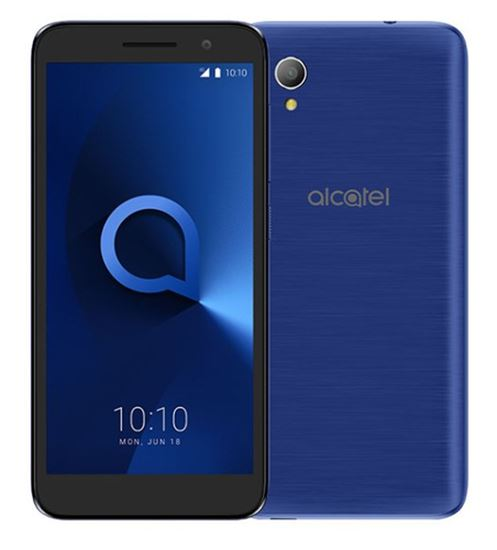 Immagine di ALCATEL SMARTPHONE 1 2019 4,99 DUAL SIM ANDROID GO EDITION QUAD CORE 8GB MICROSD 32GB BLUISH BLACK