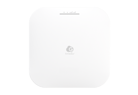 Immagine di ENGENIUS ACCESS POINT CLOUD MANAGED INDOOR DUALBAND 11ax 1148+2400Mbps 4T4R BLE 2.5GbE PoE.at(+) 3dBi ia