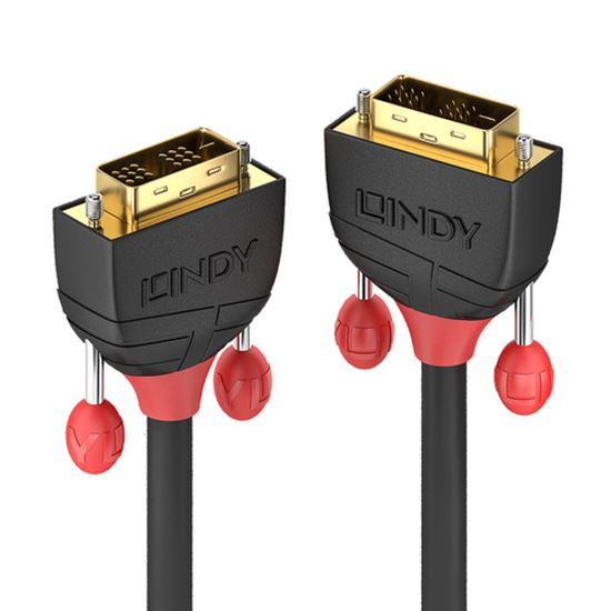 Immagine di LINDY CAVO DVI-D SINGLE LINK BLACK LINE, 2M