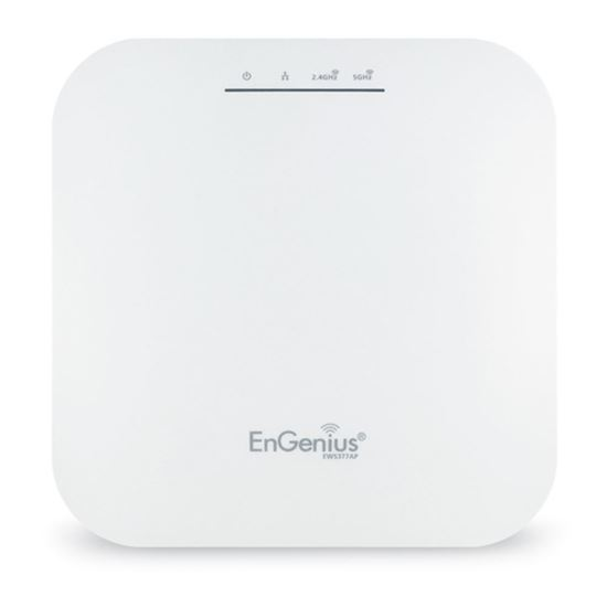 Immagine di ENGENIUS ACCESS POINT MANAGED INDOOR DUAL BAND 11ax 1148+2400Mbps 4T4R 2.5GbE PoE.at(+) 8x3dBi ia