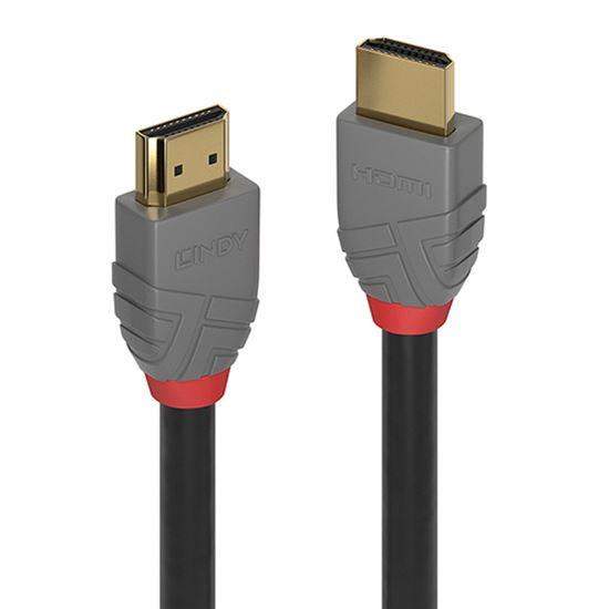 Immagine di LINDY CAVO HDMI HIGH SPEED ANTHRA LINE, 0.3M