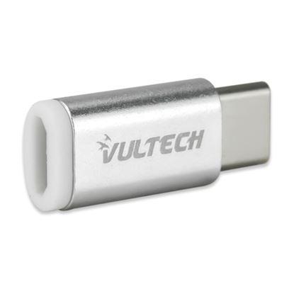 Immagine di VULTECH ADATTATORE ADP-01 MICRO USB 2.0 TO TYPE C - ALLUMINIO
