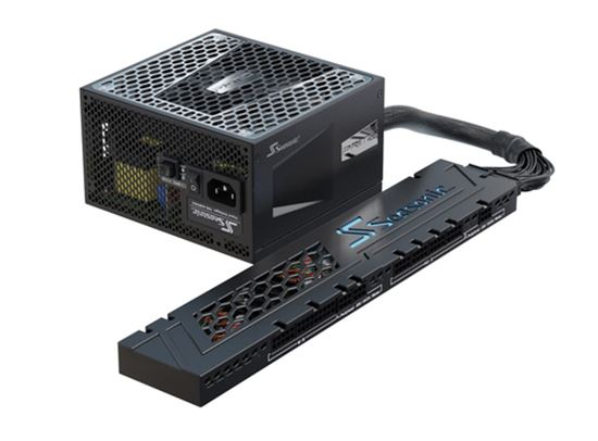 Immagine di SEASONIC CONNECT ALIMENTATORE ATX 12V, 80PLUS GOLD, FULL MODULAR, PSU: 140 mm (L) x 150 mm (W) x 86 mm (H), CONNECT MODULE: 330 mm (L) x 64 mm (W) x 21 mm (H)