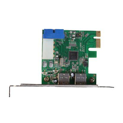 Immagine di I-TEC SCHEDA DI RETE PCIe CARD USB 3.0 SUPERSPEED 2x EXTERNAL + 1x INTERNAL 20 PIN