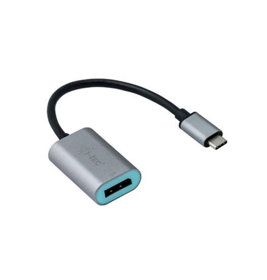 Immagine di I-TEC CAVO USB-C METAL DISPLAY PORT ADAPTER 60HZ