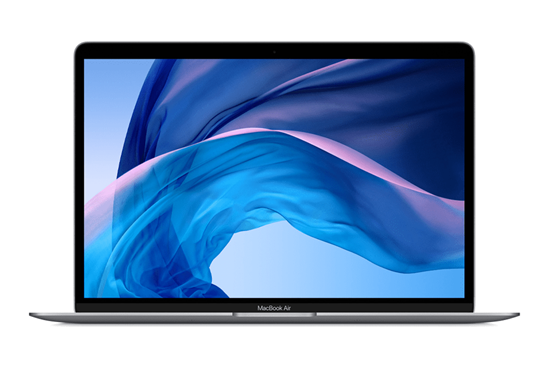 Immagine di APPLE NB 13-INCH MACBOOK AIR 1.1GHZ DUAL-CORE 10TH-GENERATION INTEL CORE I3 PROCESSOR, 256GB - SPACE GREY